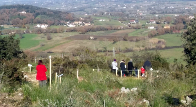 attualità cultura ambiente Monte Menola Pontecorvo Parco dei dinosauri eventi natalizi associazione Animafamily Gianfranco Caporuscio tour didattico Moira Rotondo orienteering visite guidate Frosinone Ciociaria