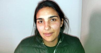 Diana Jankovic, arrestata dai carabinieri per furto