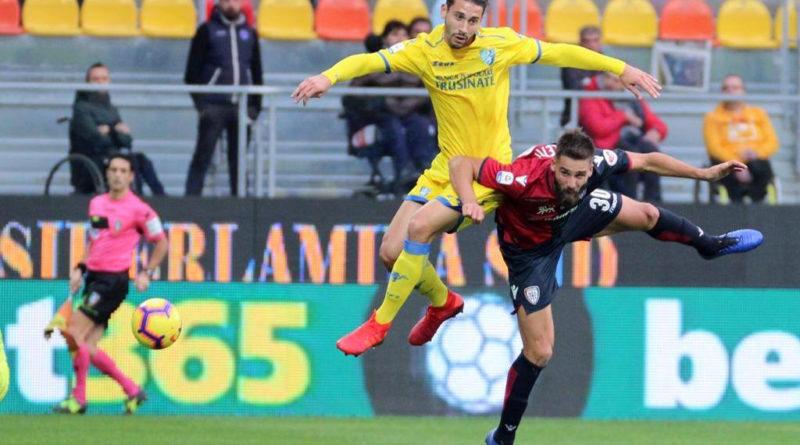 Frosinone Cagliari partita match serie a calcio ciociaria