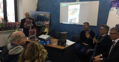 cultura Bruno Vacca presentazione libro volumi Io Abbatia Valleluce Cassino Abbazia di Montecassino storia comunità Frosinone Ciociaria Confcommercio Lazio sud