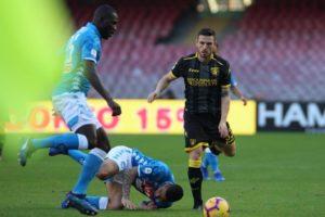 Napoli Frosinone partita match serie a calcio ciociaria