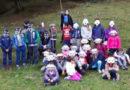 Studenti a lezione di educazione ambientale nel Parco