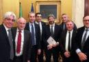 Upi, Antonio Pompeo nella delegazione che ha incontrato il presidente Roberto Fico
