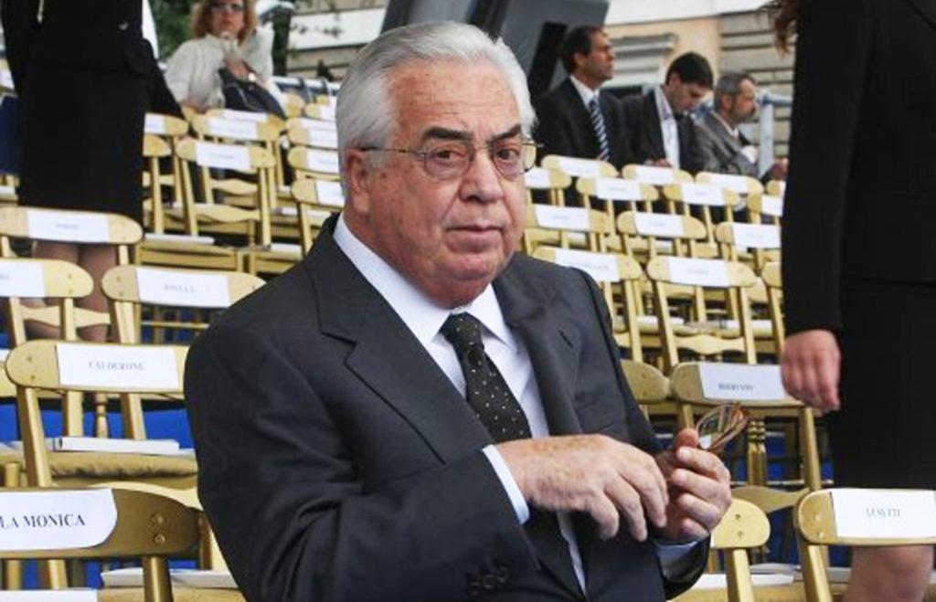 giuseppe ciarrapico morto editore senatore imprenditore della repubblica italiana frosinone ciociaria oggi latina oggi fiuggi acque minerali