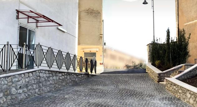 attualità politica decoro urbano nuovo parcheggio Casa della salute Ferentino Frosinone Ciociaria Antonio Pompeo amministrazione comunale riqualificazione valorizzazione Archi di Casamari inaugurazione crescita della Città binomio servizi e decoro bonifica messa in sicurezza patrimonio culturale e ambientale riqualificazione urbana