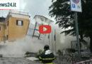 ULTIM'ORA – Crolla un palazzo in pieno centro a Ceprano [IL VIDEO]