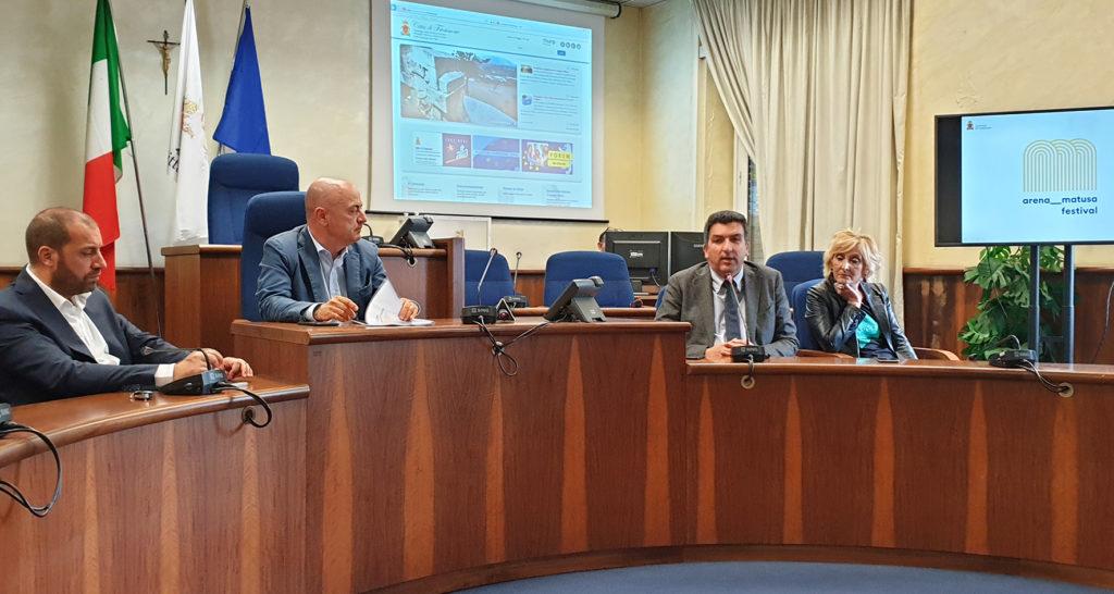 Da sinistra: Antonio Scaccia, Nicola Ottaviani, Massimo Pizzuti e Rossella Testa frosinone ciociaria