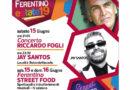 Ferentino – Al via la due giorni di Street Food e domani Riccardo Fogli in concerto