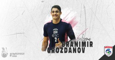 A rinforzare il reparto schiacciatori, Branimir Grozdanov
