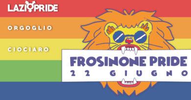 lazio pride frosinone ciociaria orgoglio ciociaro gay lesbo trans lesbiche omosessuali transessuali bisessuali bisex lgbt 22 giugno via aldo moro