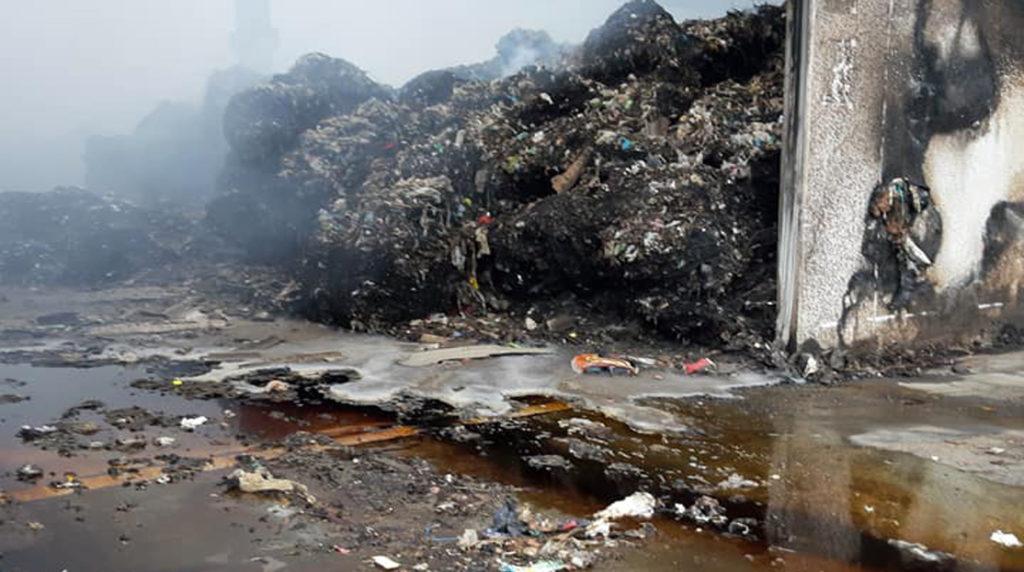 mecoris incendio fabbrica stabilimento rifiuti speciali fumo tossico nube frosinone ciociaria vigili del fuoco nicola ottaviani ordinanza sindaco vincenzo savo