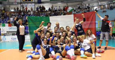 campioni d'europa nazionale volley femminile sorde claudia gennaro frosinone ciociaria pallavolo