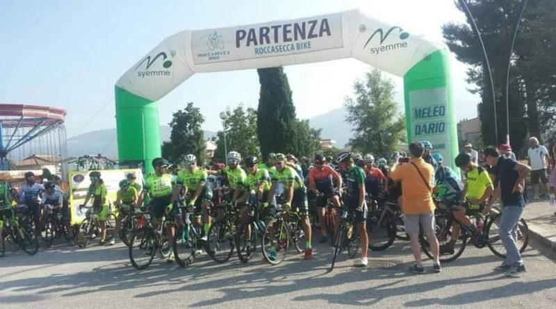 Roccadarce, un successo la Gara ciclistica Gran Fondo. Vigilanza curata dalle Guardie Forestali Ambientali 'Valle del Liri'.