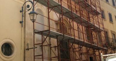 attualità politica lavori Anagni Frosinone Ciociaria Manutenzione decoro urbano Alessandro Cardinali Daniele Natalia messa in sicurezza auditorium comunale centro storico