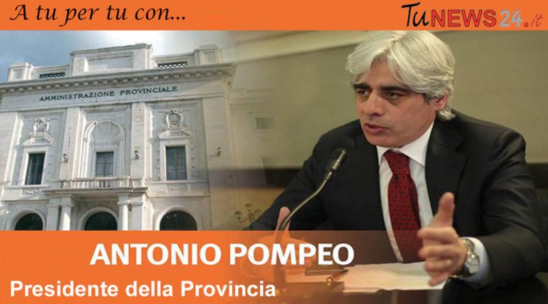 antonio pompeo presidente provincia frosinone sindaco ferentino