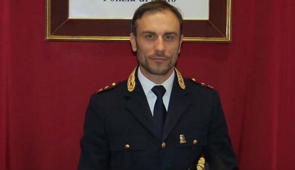 Il commissario capo Flavio Genovesi