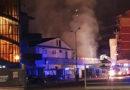 Altro incendio a Frosinone: in nottata divorato dalle fiamme il supermercato Lidl di via Maria