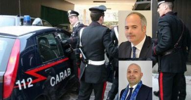 sindaco vicesindaco piedimonte san germano voto di scambio carabinieri ordinanza