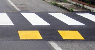 attualità strade sicurezza stradale Frosinone Ciociaria attraversamenti pedonali rialzati Amministrazione Ottaviani Polizia locale lavori pubblici servizio manutenzioni