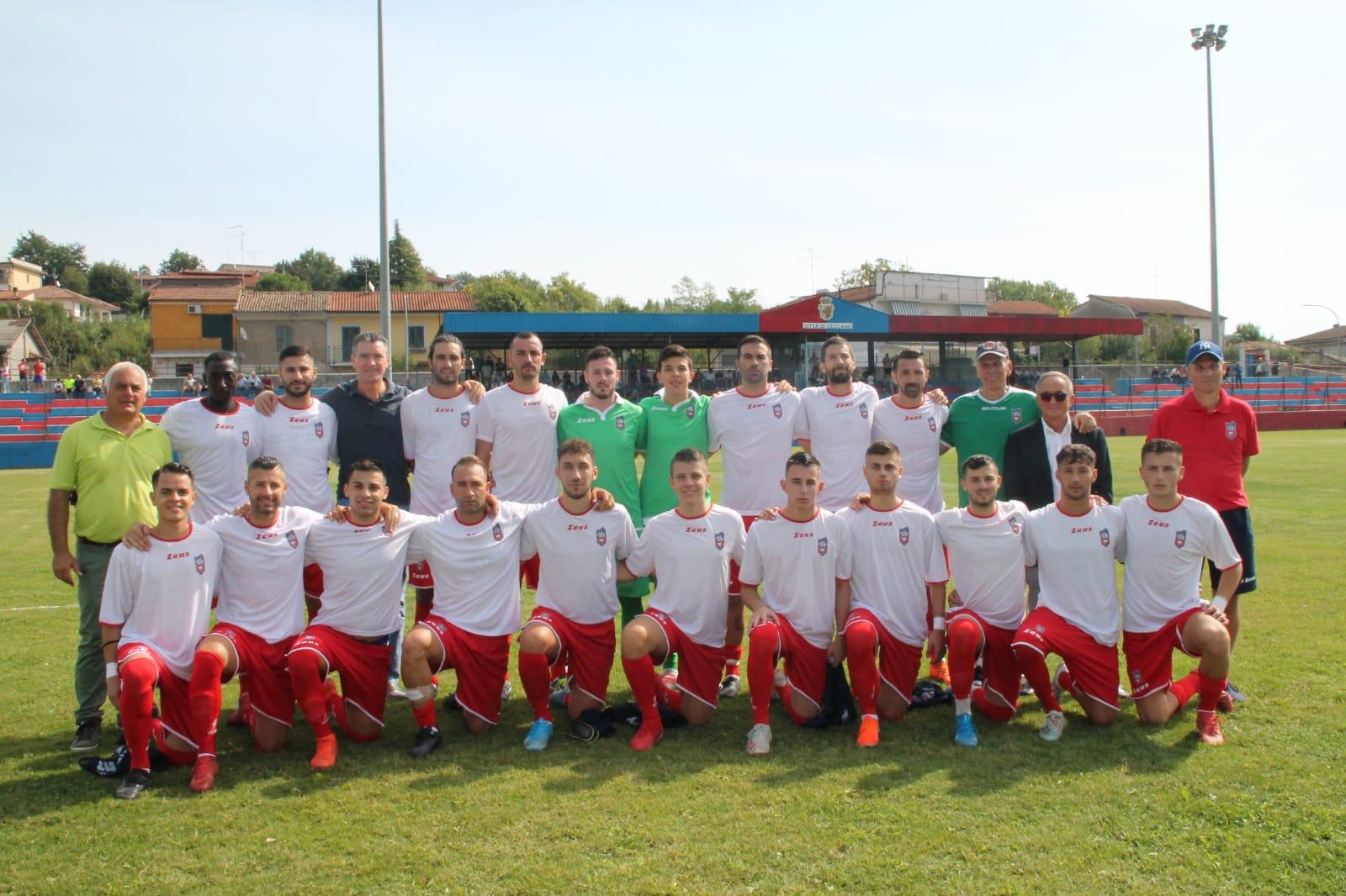 Ceccano calcio promozione rosa 2019-20