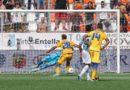 Entella-Frosinone 1-0, giallazzurri beffati nel finale
