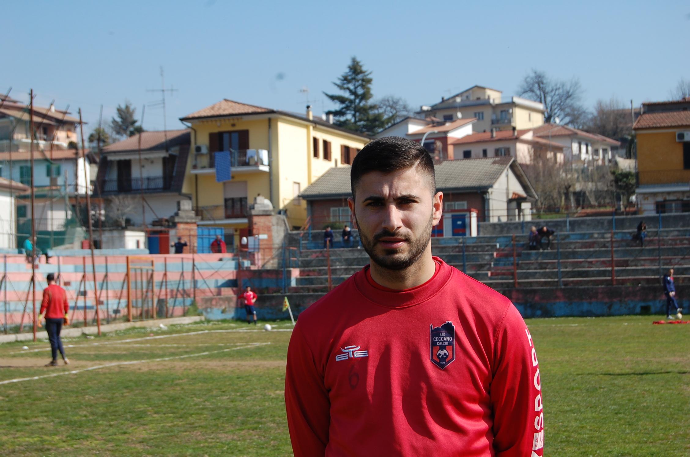 Moreno Tiberia ceccano calcio