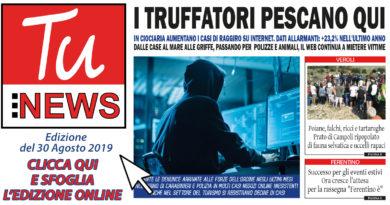 tu news 30 agosto 2019