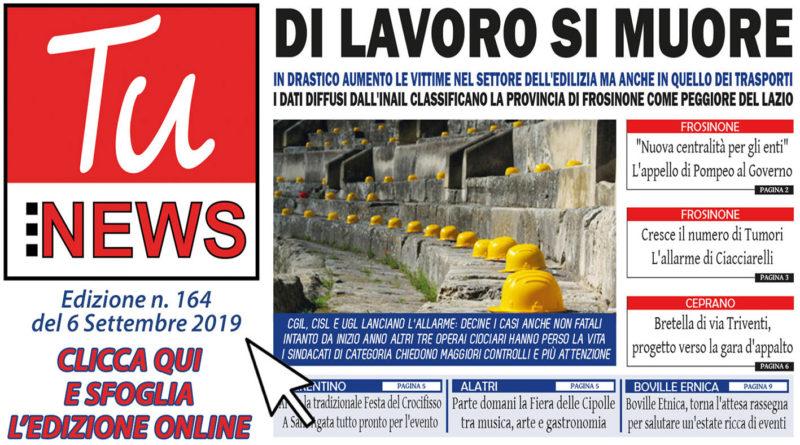 tu news n. 164 del 6 settembre 2019