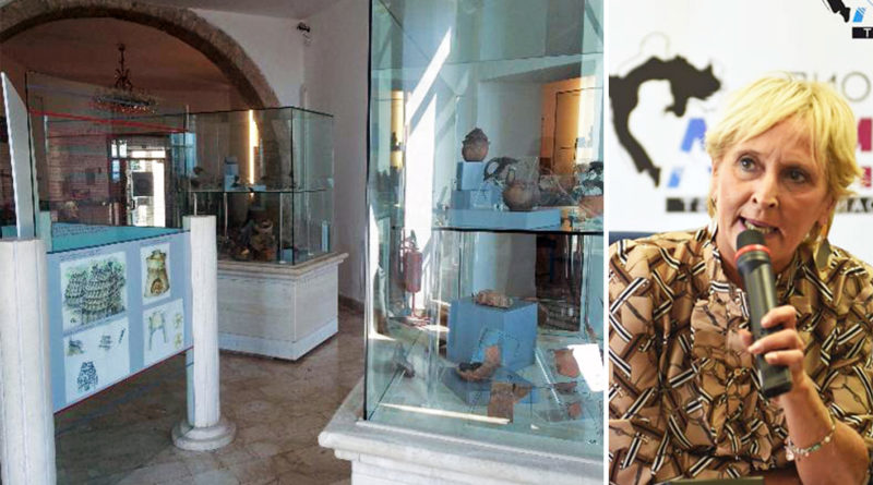 rossella testa assessore centro storico museo archeologico frosinone