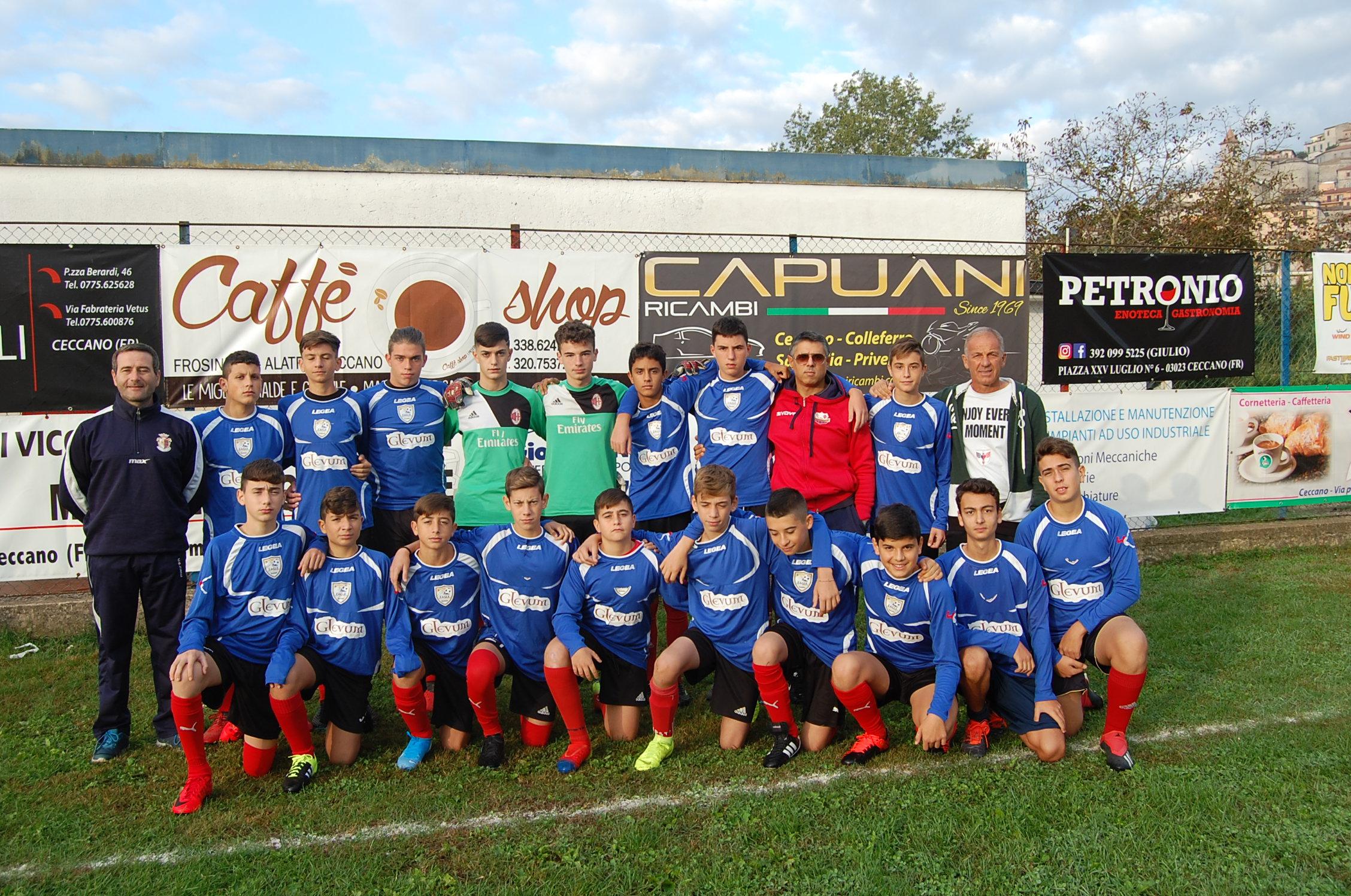 Ceccano Under 15 2019-20