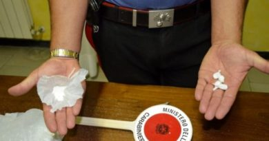 cocaina carabinieri frosinone arresti