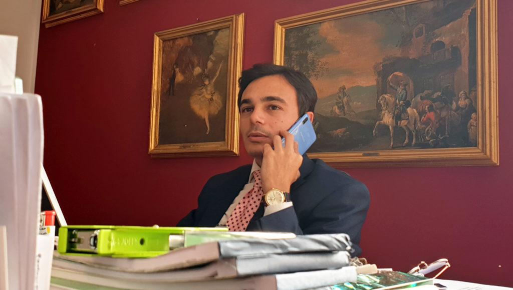L'esponente di fratelli d'Italia Samuel Battaglini