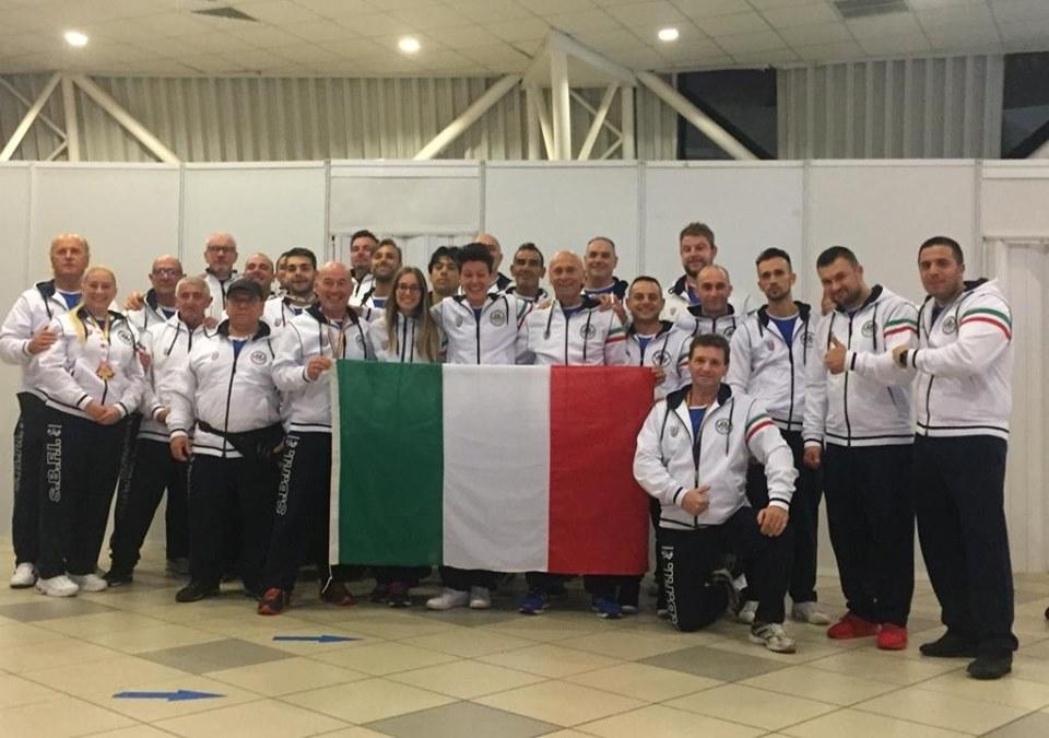 WAC 2019, XLI CAMPIONATO DEL MONDO. SUCCESSO PER L'ATLETA ARPINATE REA. PLAUSO DI QUADRINI