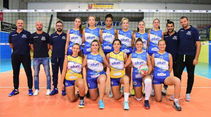 Assitec Saluspro Sant'Elia campionato nazionale femminile serie B1