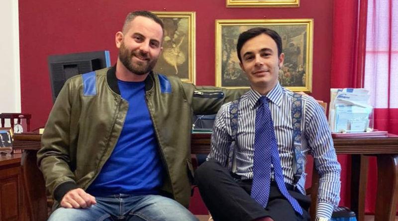 Emanuele Borrelli e Samuel Battaglini Fratelli d'Italia