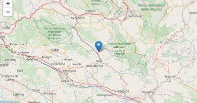 terremoto frosinone ciociaria
