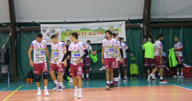 VOLLEY – Brusca frenata per il Volley Ferentino