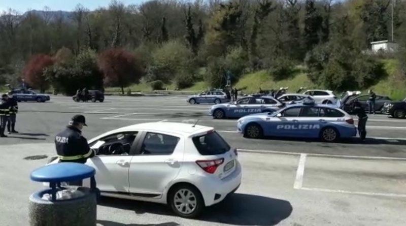 Controlli di polizia stradale su strade e autostrade: la Macchia 'sorvegliata speciale'