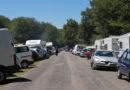 Solo 500 auto a Prato di Campoli