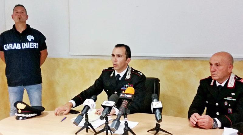 carabinieri frosinone branchinelli pizzotti