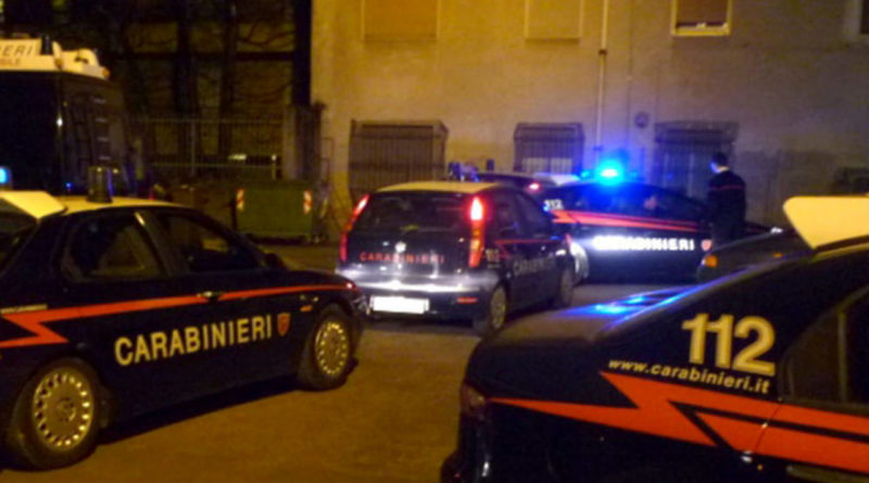 carabinieri notte blitz antidroga droga