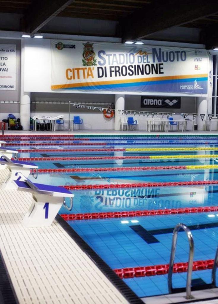 stadio del nuoto frosinone