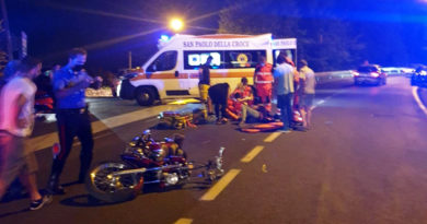 incidente ferentino moto testimoni