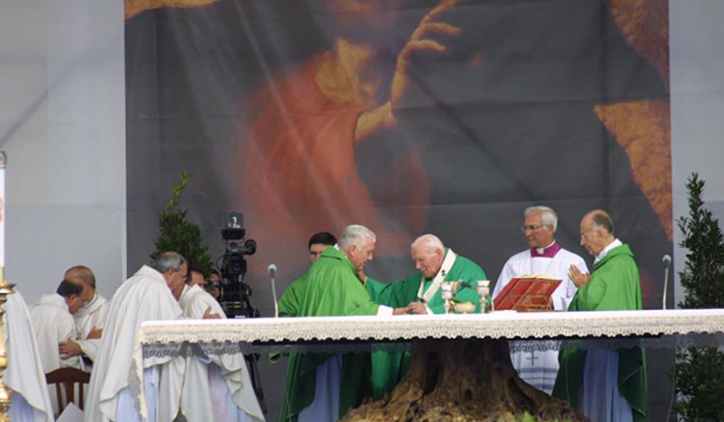 Il ricordo della visita di Papa Giovanni Paolo II a Frosinone