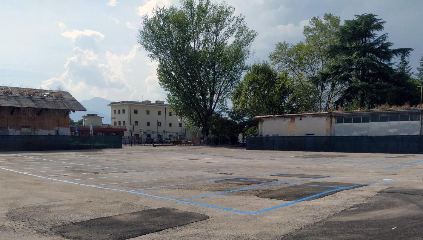 Frosinone, domani l'inaugurazione del nuovo parcheggio alla stazione