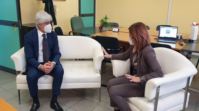 Provincia – Il presidente Pompeo incontra il nuovo direttore generale Asl D'Alessandro
