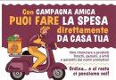 Emergenza Covid, la Coldiretti Frosinone-Latina attiva la consegna a domicilio della spesa
