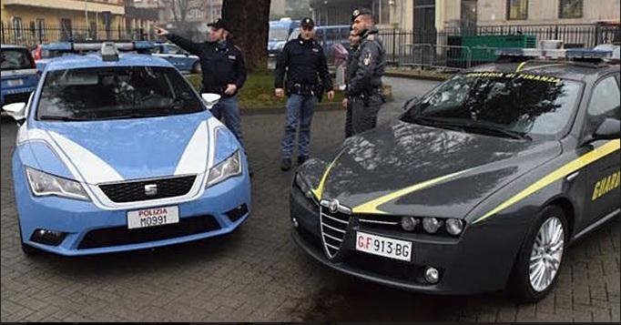 polizia finanza immigrati arresti cassino