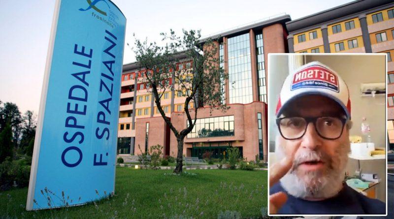 frosinone pasqua vincenzo minotti ospedale fabrizio spaziani covid