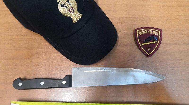 coltello sequestrato